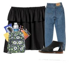 """""""Pop out"""" by fandombreather ❤ liked on Polyvore featuring H&M, American Eagle Outfitters, Sephora Collection, Nails Inc. and Vera Bradley"""