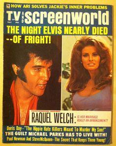 MOVIE/TV 1970 Raquel Welch ELVIS & PRISCILLA PRESLEY Doris Day MICHAEL PARKS