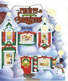 Not a Creature Was Stirring Except For a Mouse! Let your child explore this classic Christmas story in ways they never have before! The thick, big-trim, die-cut board book format gives everyone a fantastical inside view of what is happening in the house the night before Christmas. Each page builds on the previous spread and gives a sneak peak at what comes next! The stunning illustrations and familiar text will ensure that this board book becomes a holiday staple for friends and family…