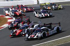 Porsche 919 híbridos WEC,campeonato mundial de resistencia, F1, automovilismo, equipo fórmula Porsche, clasificación de pilotos, circuito internacional Fuji