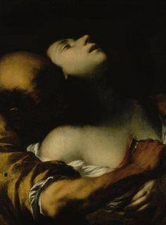 Francesco del Cairo - The Death of Sta Agnes
