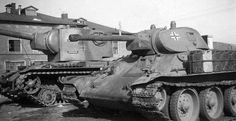 KV-2 & T-34