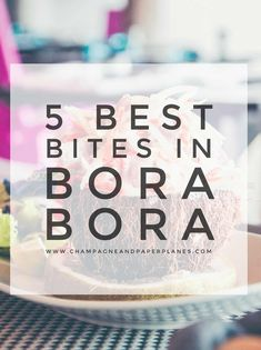 Experiencing the local cuisine is the best way to explore Bora Bora. We ate at the top restaurants so we could tell you about the best bites in Bora Bora! Honeymoon Special, Honeymoon Style, Honeymoon Destinations, Honeymoon Ideas, Places To Eat, Places To Travel, Vacation Places, Vacation Spots, Vacation Ideas