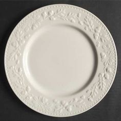Royal Stafford Sherwood Oak White Embossed Plate at Replacements, Ltd Old Plates, Plates And Bowls, Serving Plates, Cream Dinnerware, China Dinnerware Sets, Royal Stafford, Pedestal Cake Stand, Coffee Candle, Pattern Code