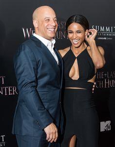 Vin Diesel and Ciara on Red Carpet of The Last Witch Hunter October 2015 | POPSUGAR Celebrity