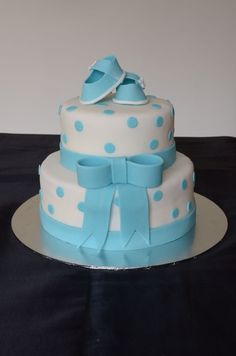Baby shower cake ideas for a boys themed event.