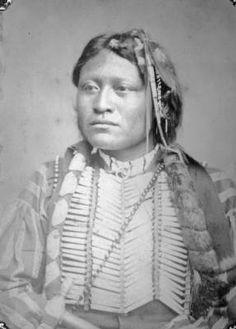 Lone Wolf, Comanche & Arappaho Chief [i. e. Kiowa]. no date.