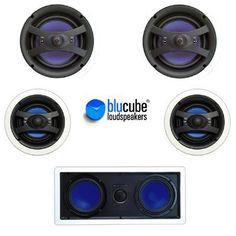BluCube Home Cinema Speaker Package