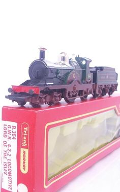 #TRIANG #HORNBY R354 - GWR 4-2-2 DEAN SINGLE #LOCOMOTIVE   #LORD OF THE ISLES