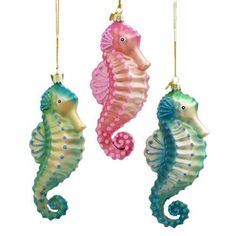 The 254 best Christmas ornaments: seahorses images on Pinterest in ...