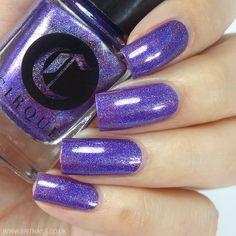 Brand: Cirque Colors // Collection: Juicy (Summer 2015) // Color: Concord // Blog: Brit Nails