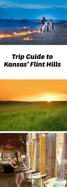 Miles of peaceful pleasures wait in the rolling Flint Hills in eastern-central Kansas. Trip guide to the Flint Hills area, including Manhattan: http://www.midwestliving.com/travel/kansas/manhattan/trip-guide-to-manhattan-and-the-flint-hills/