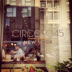 Circolo45 New York new Italian restaurant and hangout