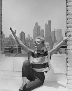 """Mary Martin in costume for """"Peter Pan"""""""