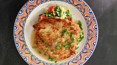 Chicken Francese with Couscous with Baby Spinach, Grape Tomatoes and Lemon Zest Recipe