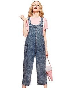 Elf Sack Womans Summer Long Denim Overalls Pants Jeans Bl... https://smile.amazon.com/dp/B01G733VW2/ref=cm_sw_r_pi_dp_05RLxbBRV0AMF