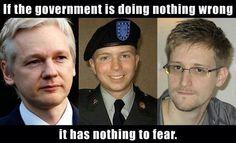 I am Julian Assange. I am Bradley Manning. I am Edward Snowden.
