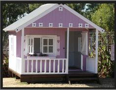 wendy house with porch