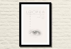 Looper Movie Poster Art Print 11 X 17 Joseph by LiltDesignCompany