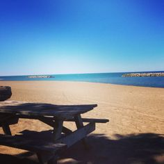 Spend the day at Presque Isle State Park in Erie, Pa. Ride bikes, hit the beach, hike, swim, picnic, canoe, bird or just relax.