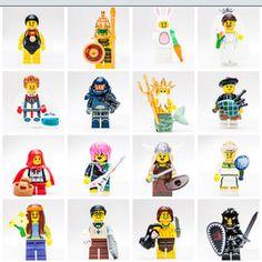 Lego Mini figures Series 7