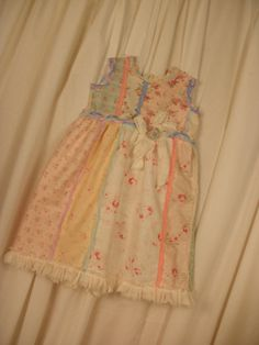 Shabby Chic Childrens Dress size 46 from My by ShatteredPrincess, $75.00