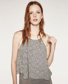 Image 2 of HALTER NECK TOP from Zara