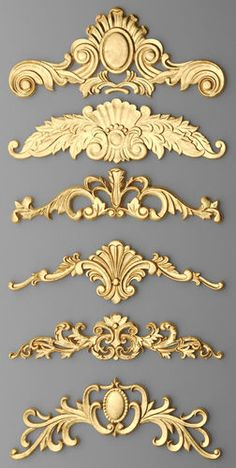 If you are having difficulty making a decision about a home decorating theme, tuscan style is a great home decorating idea. Many homeowners are attracted to the tuscan style because it combines sub… Tuscan Design, Tuscan Style, Home Confort, Decoration Baroque, Wood Carving Designs, Ornaments Design, Door Design, Design Elements, Painted Furniture