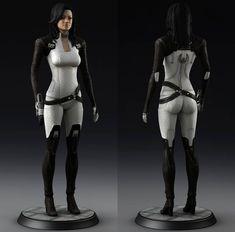 Mass Effect Miranda, Character Inspiration, Character Design, Miranda Lawson, Mass Effect Universe, Sci Fi Models, Cyberpunk Character, Sci Fi Characters, Super Hero Costumes