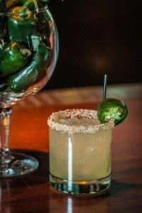 Jalapeno Popper Margarita-spicy margs are my favorite.
