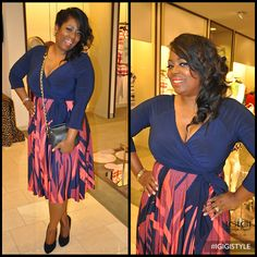 @TalkingWithTami looks gorgeous in the Bellissima 2-in-1 Dress! #IGIGISTYLE
