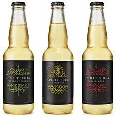 New Logo and Packaging for Spirit Tree Cidery by Taxi