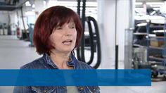 Minister Andrea Nahles zum Auftakt der ESF-Tour 2016 bei BMW Berlin