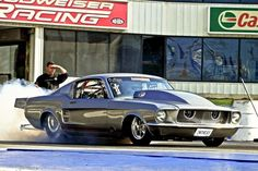 Mustang race car Twin Turbo