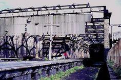 old fleetwood rail station Brooklyn Bridge, Marina Bay Sands, Trains, Building, Buildings, Construction, Train