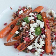 The Crazy Kitchen: Jamie Oliver 5 Ingredients : Carrot & Grain Salad