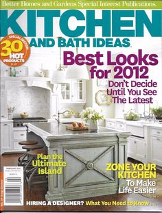 Kitchen And Bath Ideas Magazine The Ultimate Island Designer Hire Tips Storage