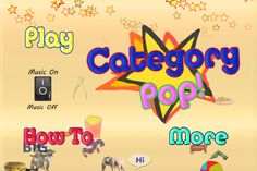 Category Pop! - screenshot