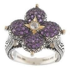 Barbara Bixby lotus ring....