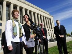 Tennessee is one of four states whose gay-marriage ban will be part of a U.S. Supreme Court review later this year. Among the plaintiffs are Valeria Tanco and Sophy Jesty, who were married in New Y...