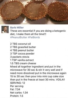 Keto Chocolate Peanut (or Almond) Butter Cups-sub fresh ground almond butter and possibly add protein powder. Keto Chocolate Peanut (or Almond) Butter Cups-sub fresh ground almond butter and possibly add protein powder. Keto Cookies, Cookies Et Biscuits, Low Carb Desserts, Low Carb Recipes, Dessert Recipes, Free Recipes, Cetogenic Diet, Comida Keto, Keto Candy