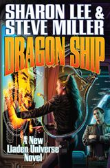 Short Review: Dragon Ship by Sharon Lee and Steve Miller - this is the fourth book in the Theo Waitley sub-series for Liaden.  It moves the story along pretty well and spent some good time in character growth and development.  But there was not anything special about the book outside of the interest for those that already like the series. Click through for a longer review and links to other Liaden books.