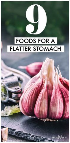 9 Foods that will flatten and slim your core to get you ready for the beach or just live healthy!  Womanista.com