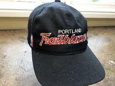 Trail Blazers Hat Vtg 90s Rip City Snapback Sports Specialties Script Rare  NBA  SportsSpecialties Trail ab0d3afd3ff9
