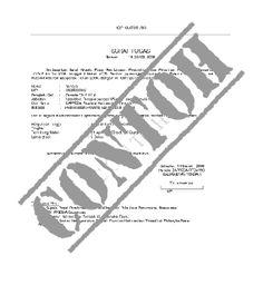 Contoh Format Surat MOU (Memo Of Understanding) - Suratkerja.com
