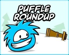 Club Penguin - Puffle Roundup Minigame at the Pet Shop!!