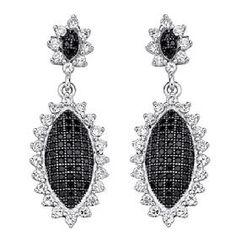 shimmering antique-inspired earrings