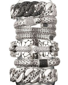 John Hardy bracelets. Available at Alson Jewelers.