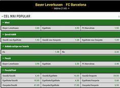 Pariuri sportive Bayer Leverkusen - Barcelona (09.12.2015) - http://biletu-zilei.com/ponturi-fotbal-liga-campionilor/pariuri-sportive-bayer-leverkusen-barcelona-09-12-2015/