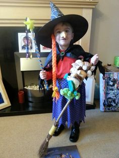 Room on the Broom witch..now to convince ainsley to be it!! & Easy DIY Room on the Broom Costume | World Book Day Ideas ...